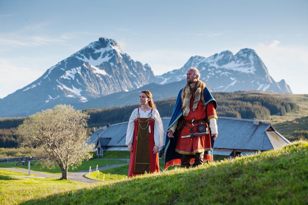 Det er klart for ny vikingfestival i Lofoten.           Alle foto: Kjell Ove Storvik