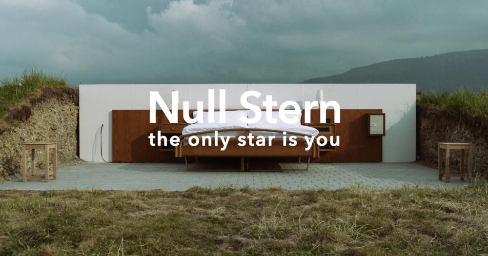 Ingen andre stjerner enn deg ... og den du deler natten med.  Foto: Null Stern Hotel