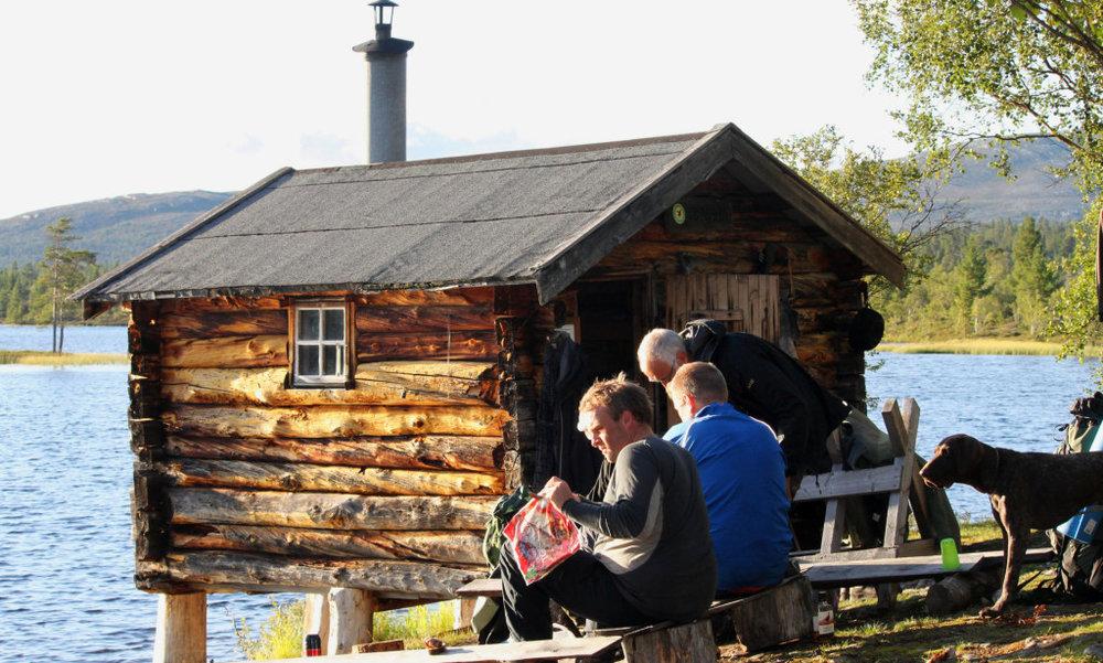 UT PÅ TUR: Revbua i Femundsmarka er en av gratishyttene til Statskog. Foto: Geir Wagnild