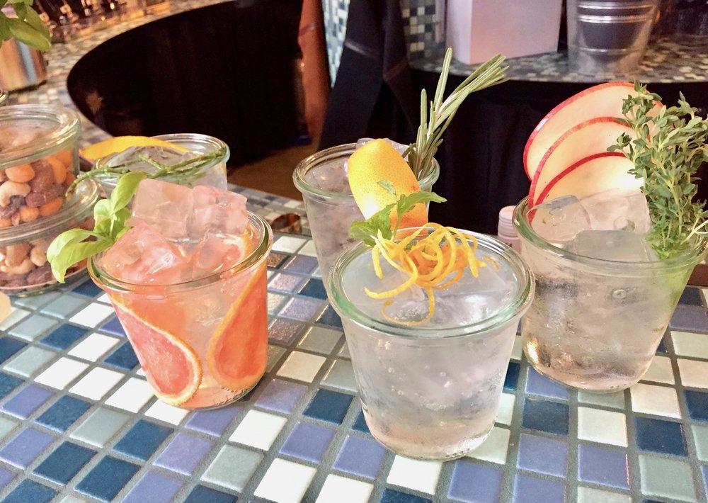 Deilige gin&tonic. Er du klar for å smake?         Foto: Odd Roar Lange