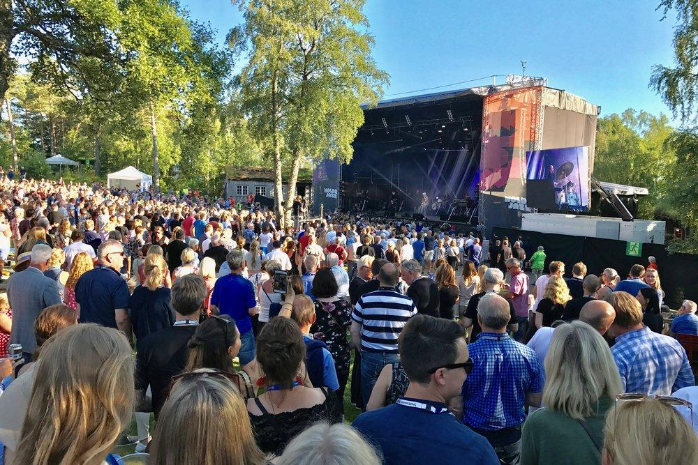 Moldejazz (bildet) og Molde Fotballklubb er Moldes mest kjente kulturaktiviteter. Nå vil regjeringen - gjennom Reiselivsmeldingen - ha mer forkus på mat og kultur i samarbeid med reiseliv. Foto: Odd Roar Lange