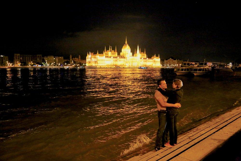 Ja, vi elsker Budapest.                     Foto: Odd Roar Lange