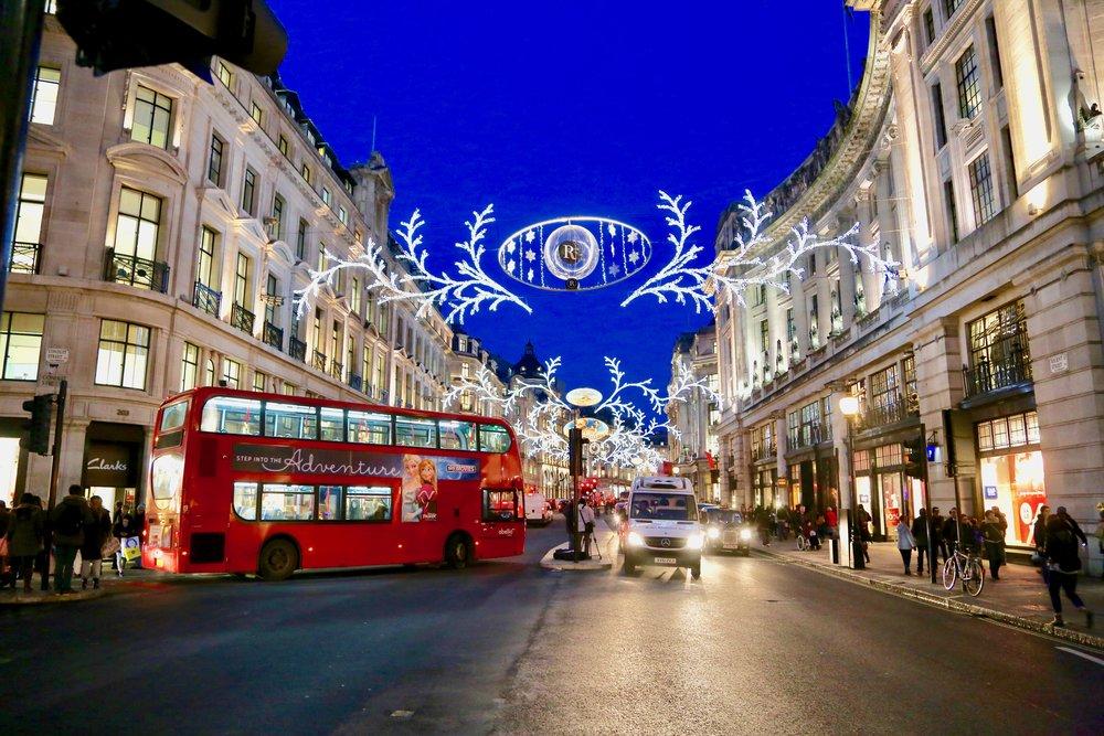 London calling. Mange nordmenn skal på juleshopping til London. Foto: Odd Roar Lange