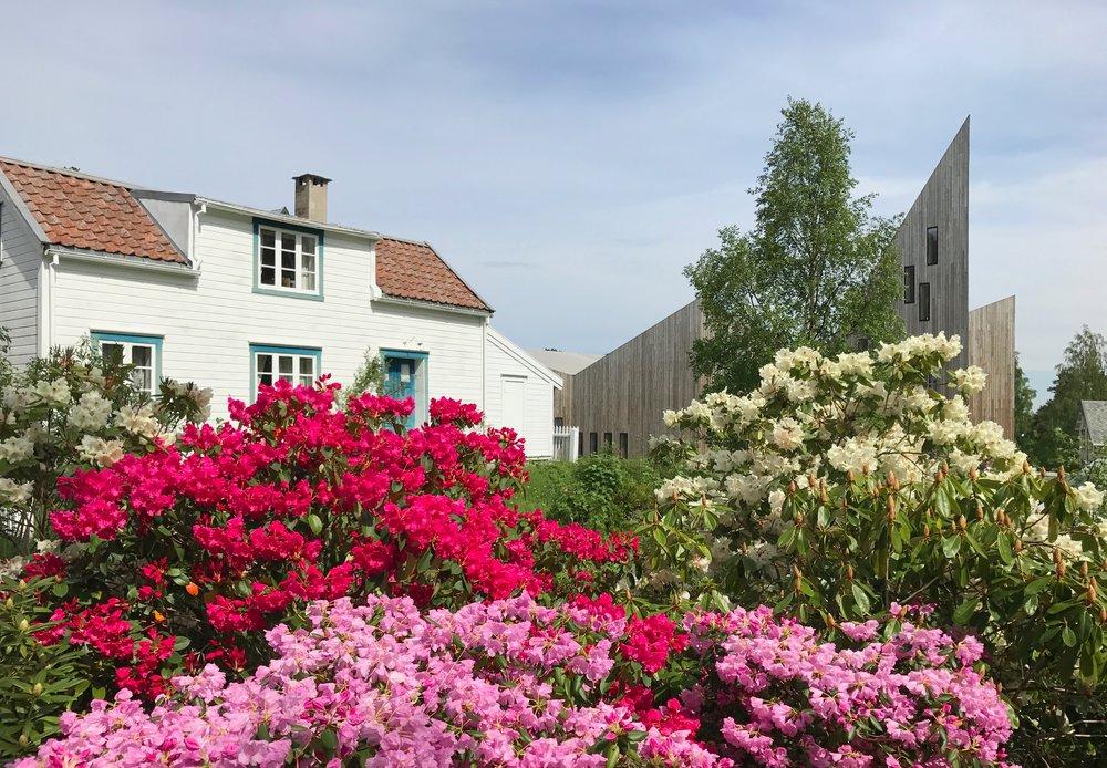 Nytt og gammelt på Romsdalsmuseet.          Foto: Odd Roar Lange