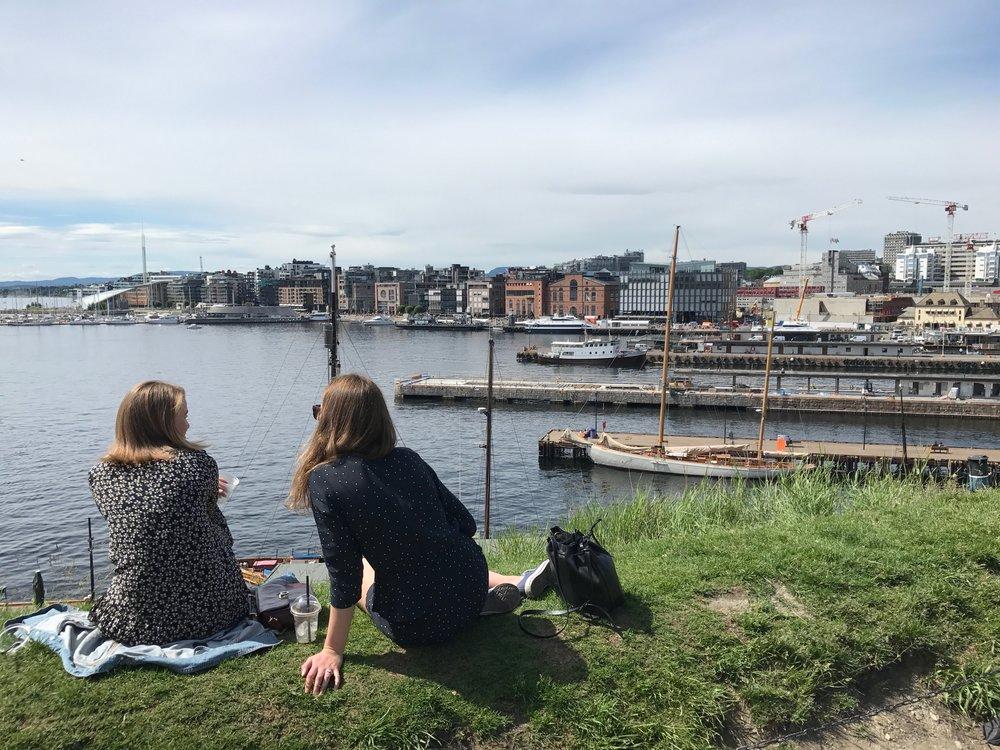 Oslo har klart størst omsetning på turisme i Norge.  Foto: Odd Roar Lange