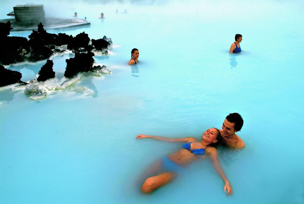 Dra til Island, opplev den Blå lagune.              Foto: Icetour