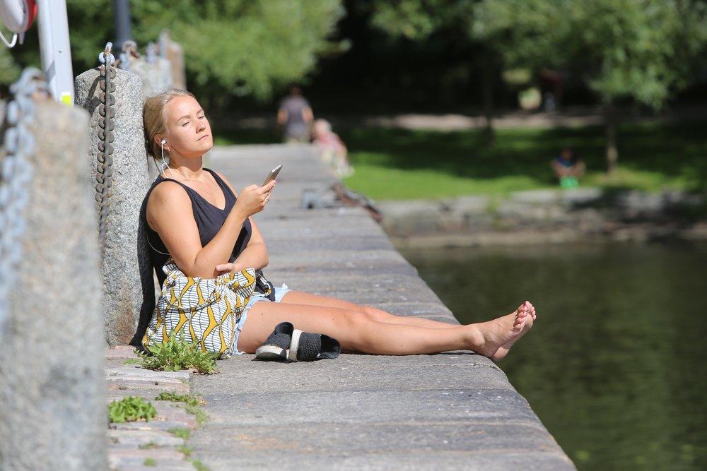 Gjør deg klar til deilig sommerdager i Göteborg.                 Foto: Odd Roar Lange