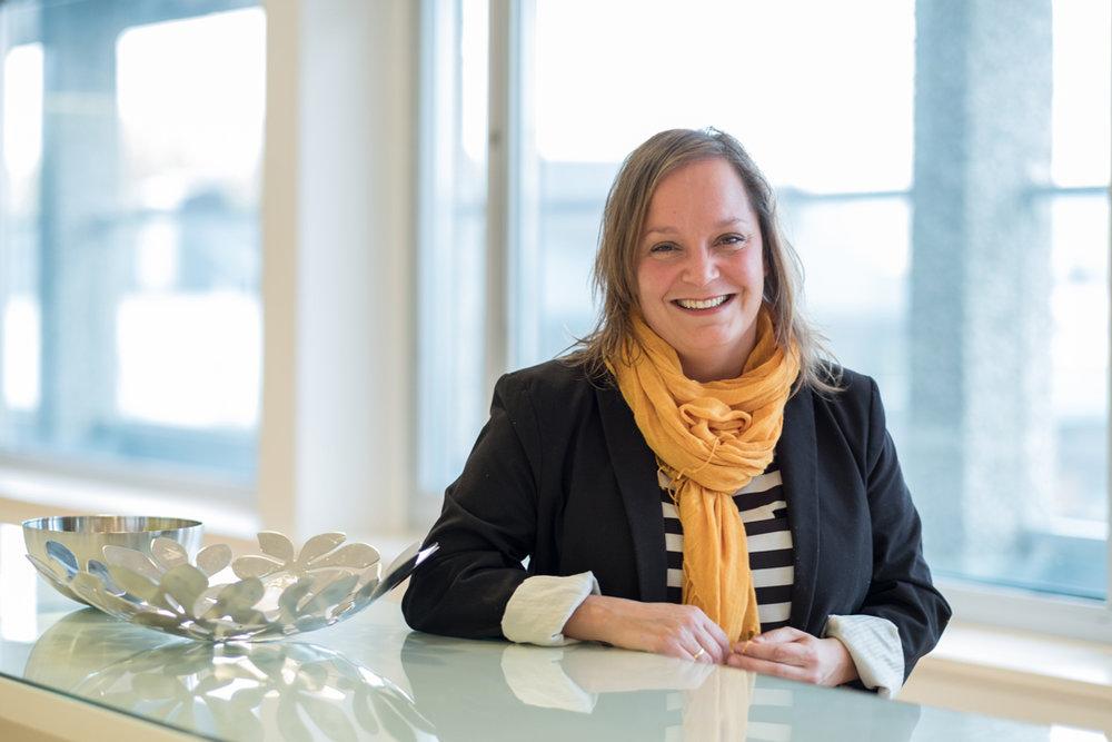 Line Endresen Normann gir ledere og ansatte gode tips mot seksuell trakassering. Foto: Virke