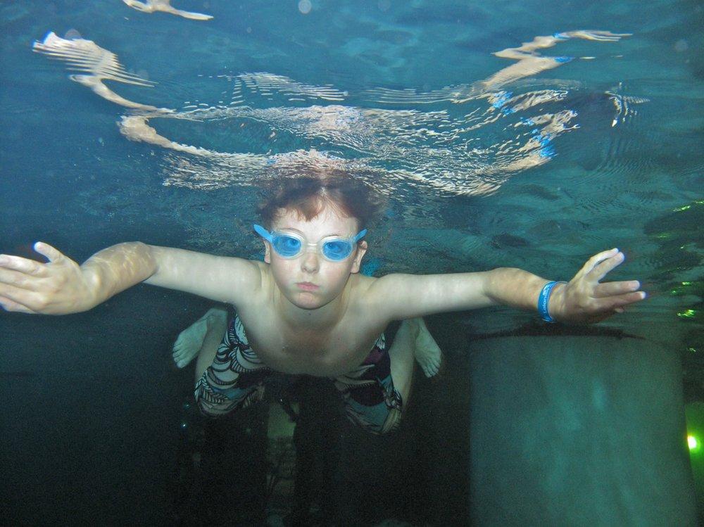 Badegleder i Aquadome i Lalandia i Billund.             Foto: Odd Roar Lange