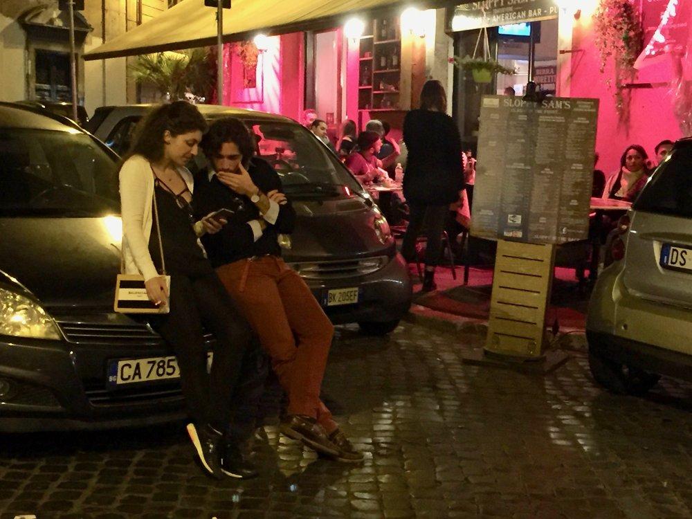 Roma - er det egentlig bare en forkortelse på romantisk ..? Foto: Odd Roar Lange