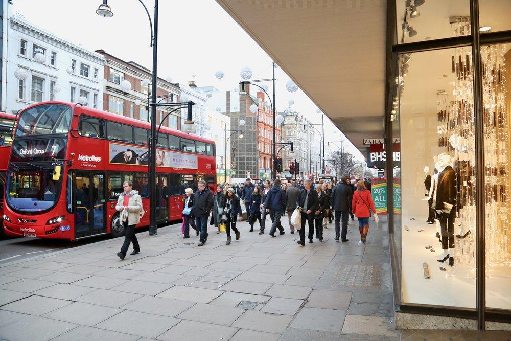 Velkommen til London. Husk å sjekke vekslekursen. Foto: Odd Roar Lange