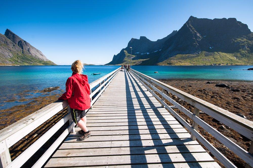 Alt det fine du har hørt om Lofoten stemmer. Ta turen selv for å se. Foto: Sverre Hjørnevik