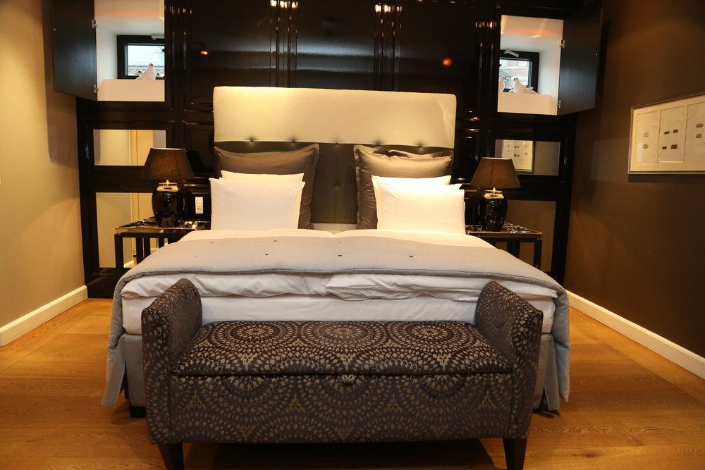 Gå til sengs på Nimb hotell. En veldig bra opplevelse.         Foto: Odd Roar Lange