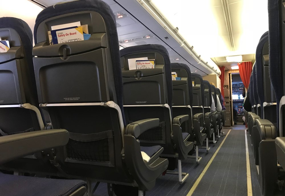 Hvor vil du helst sitte i flyet?                  Foto: Odd Roar Lange