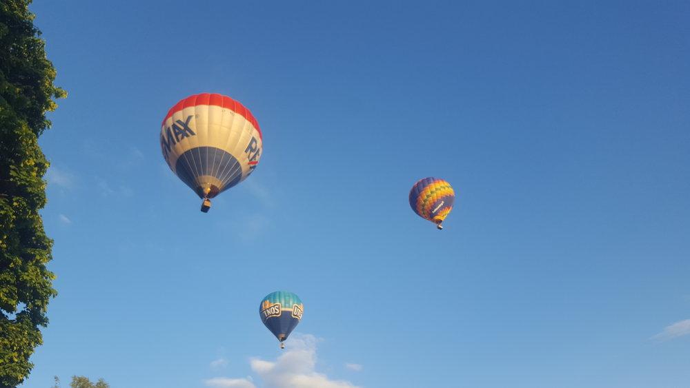 Dra til værs med luftballong.                              Foto: Visit Litauen
