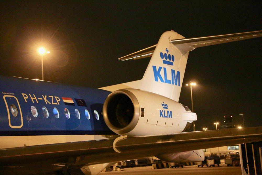 Gode nyheter for passasjerer som vil kombinere KLM og Widerøe. Foto: Odd Roar Lange