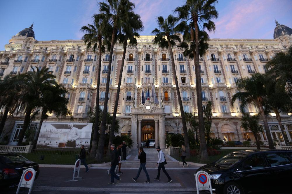 Det trenger slett ikke være luksushotell for å være et bra hotell. Her fra Carlton i Cannes. Foto: Odd Roar Lange
