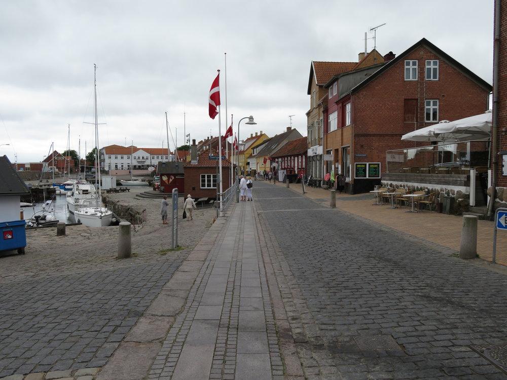Allinge - eksotisk og spennende på nordspissen av Bornholm. Foto: Odd Roar Lange