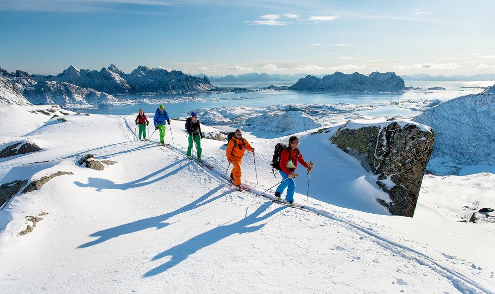 Arctic Haute Route                                     Foto: Sverre Hjørnevik