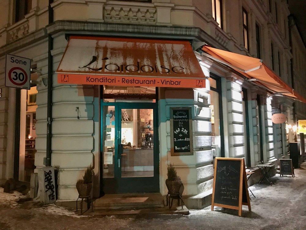 L´Ardoise ligger i Theresesgate 20 B i Oslo. Prøv den neste gang du har sjansen. Foto: Odd Roar Lange