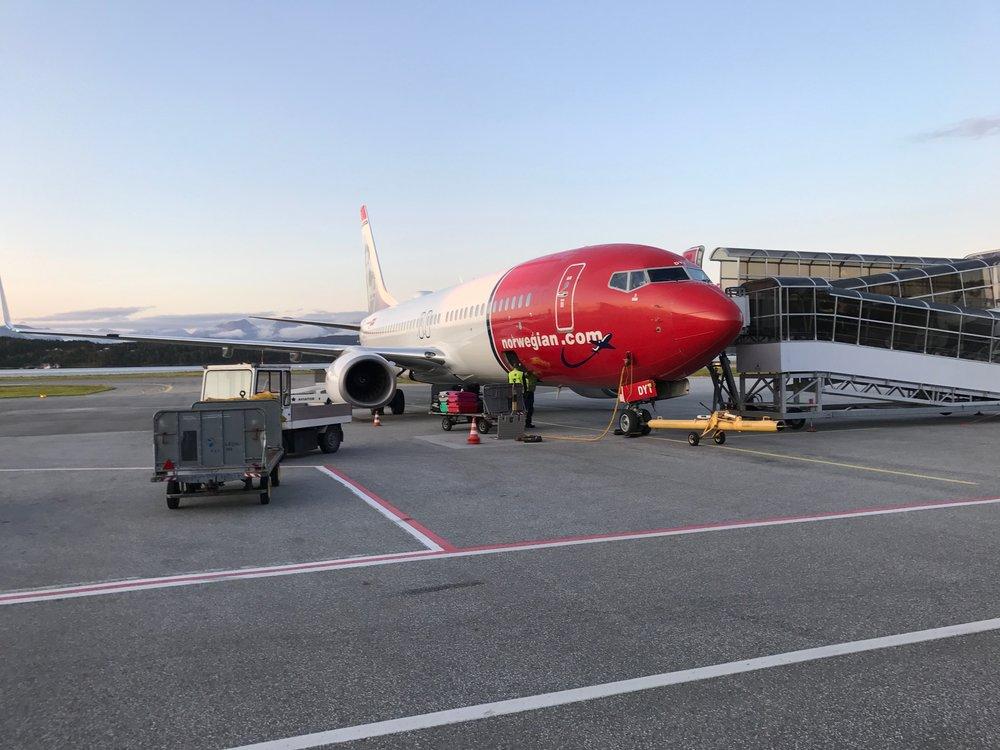 Norwegian tilbyr deg å betale for å komme før naboen om bord i flyet. Foto: Odd Roar Lange