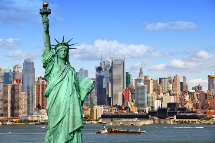 USA -med storbyen New York i spissen, er blant toppdestinasjonene på FINN reise hittil i år. New York har hatt en økning på 22 prosent i antall flybillettbestillinger sammenlignet med samme periode i fjor. Foto: Shutterstock.