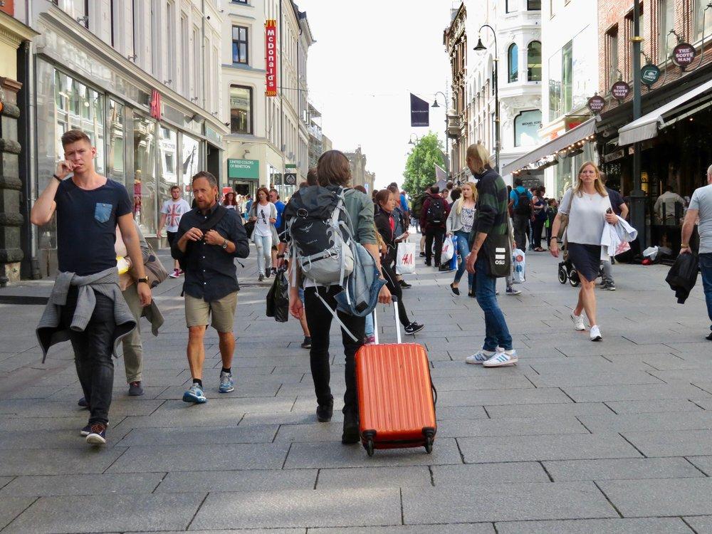 Turistene kommer. Men hvem skal ta i mot dem? Foto: Odd Roar Lange