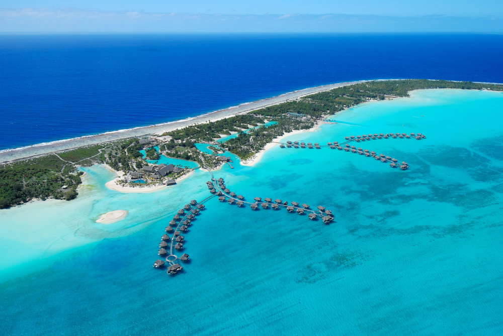 Four Seasons Resort Bora Bora, Fransk Polynesia              Foto: Fijireiser