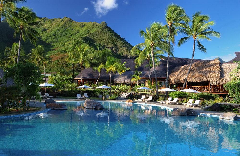 Hilton Moorea Lagoon Resort & Spa, Fransk Polynesia         Foto: Fijireiser