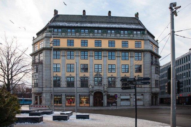 Her kommer Amerikalinjen.  Foto: Nordic Hotels & Resort