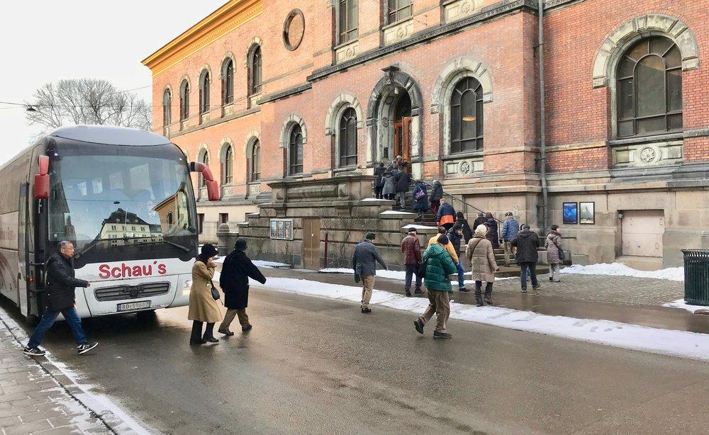 Velkommen til Norge. Kineserne utgjør en stadig større grad av turismen i Norge. Foto: Odd Roar Lange