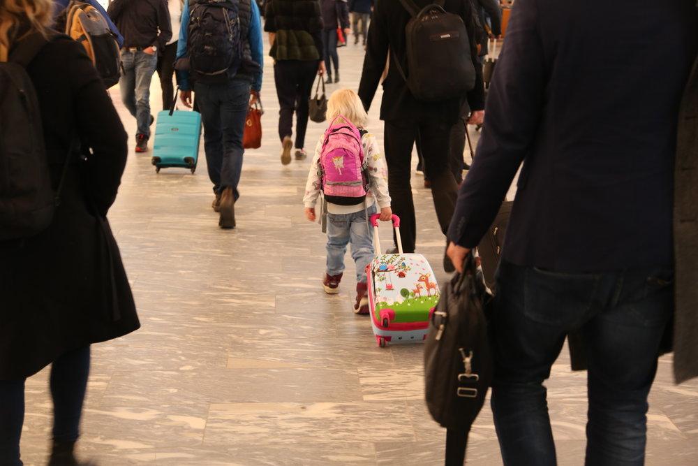 Barn skal ha egne pass, og de må være med når passet skal bestilles. Foto: Odd Roar Lange