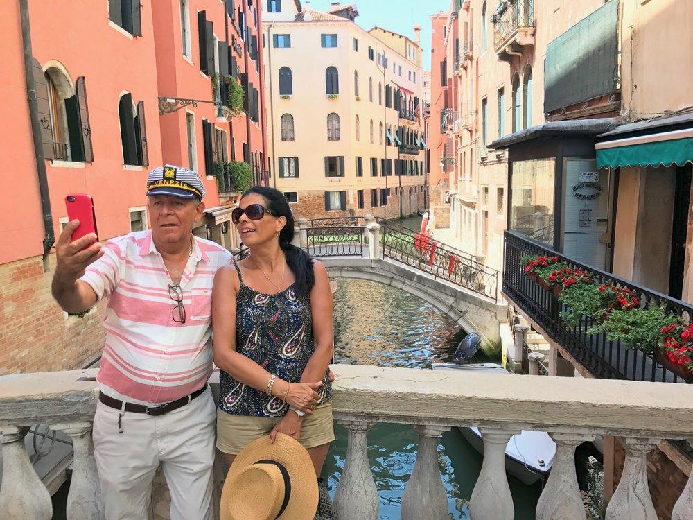 Venezia er selvsagt på fototoppen.                Foto: Odd Roar Lange