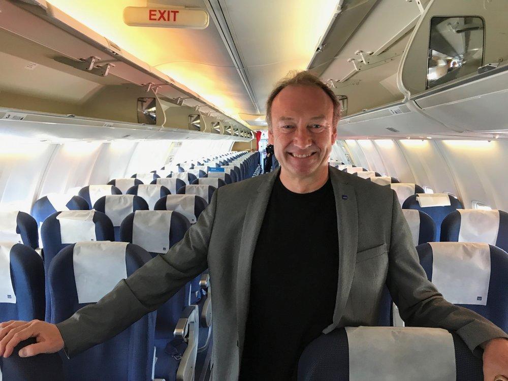 Knut Morten Johansen, pressesjef i SAS.                    Foto: Odd Roar Lange