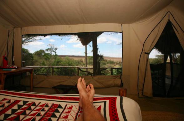 Velkommen til Basecamp Explorer Kenya. Foto: Odd Roar Lange
