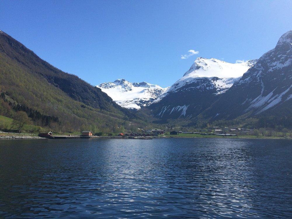Ankomst Øye                                Foto: Oddhild Breivik/Visit Ålesund