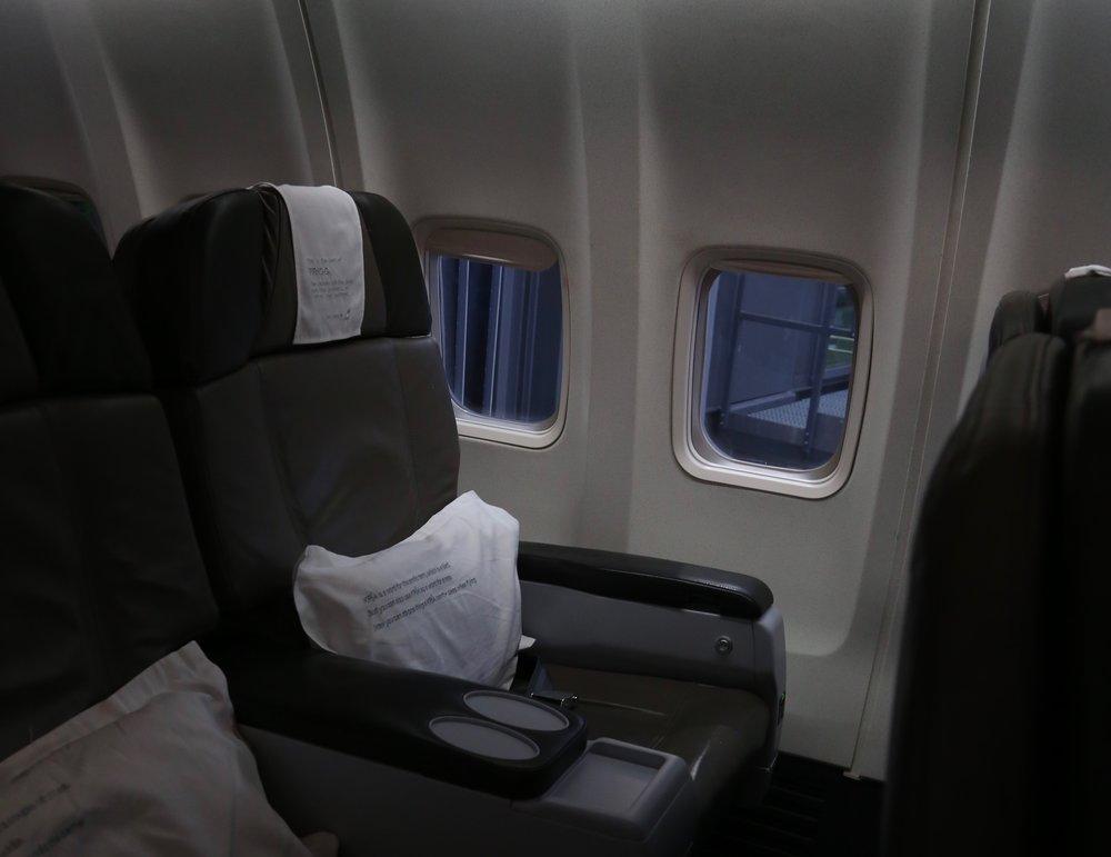 Vinduer kan være en saga blott i fremtidens fly.          Foto: Odd Roar Lange