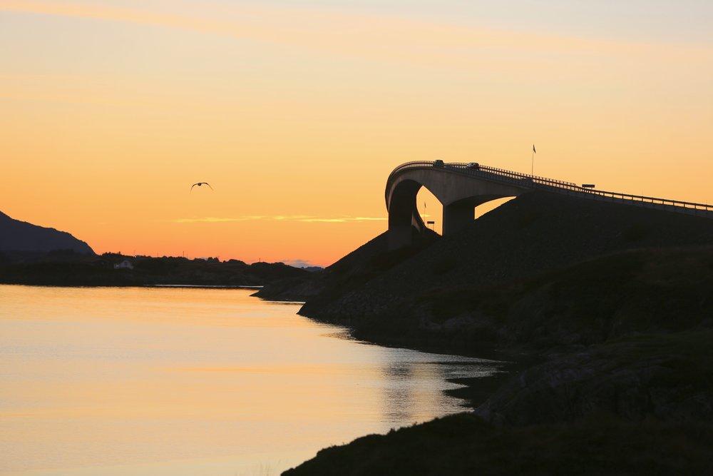 Skal du besøke Atlanterhavsvegen og kommer nordfra så må du kjøre Atlanterhavstunnelen først. Foto: Odd Roar Lange