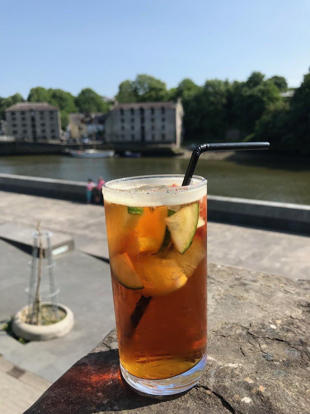 Er du klar for et glass Pimm´s i sommer? Foto: Odd Roar Lange