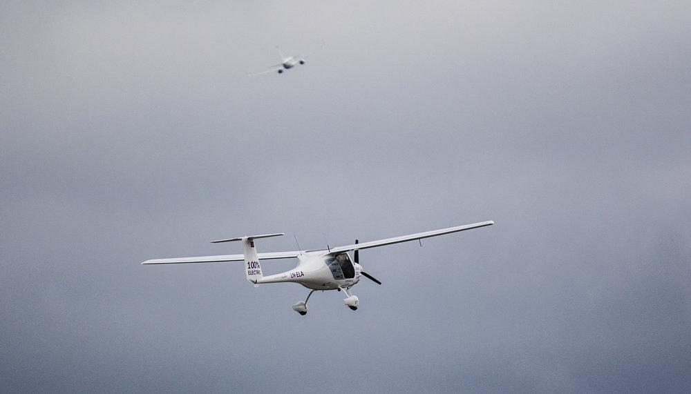 El-fly er fremtiden, mener mange.                        Foto: Avinor