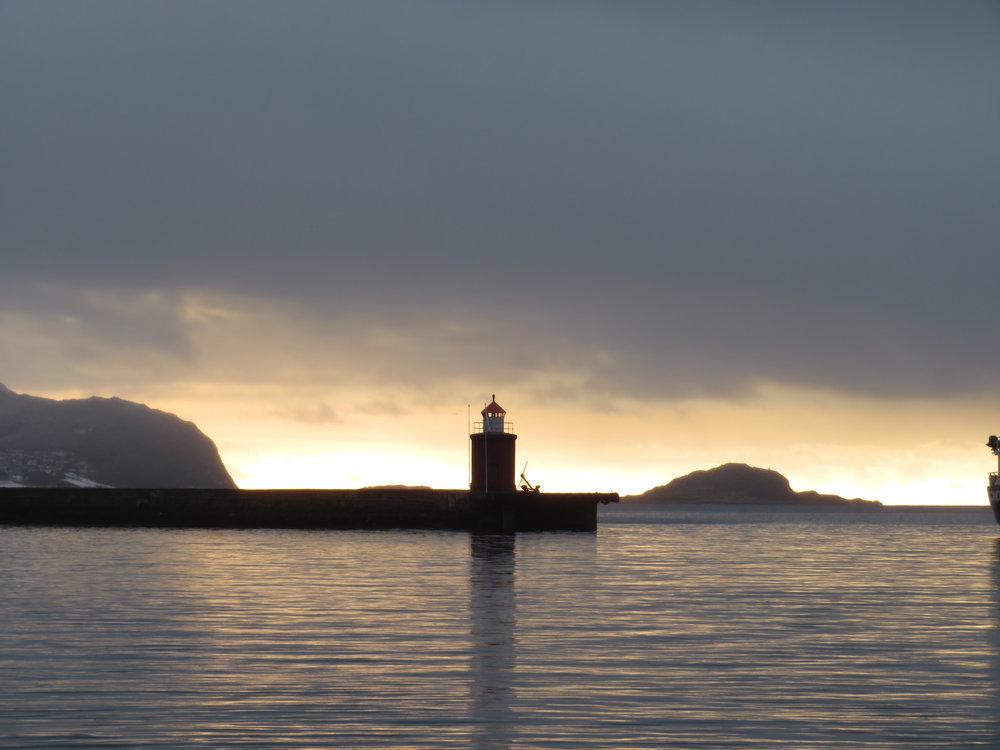 Mørke skyer over norsk reiseliv?                Foto: Odd Roar Lange