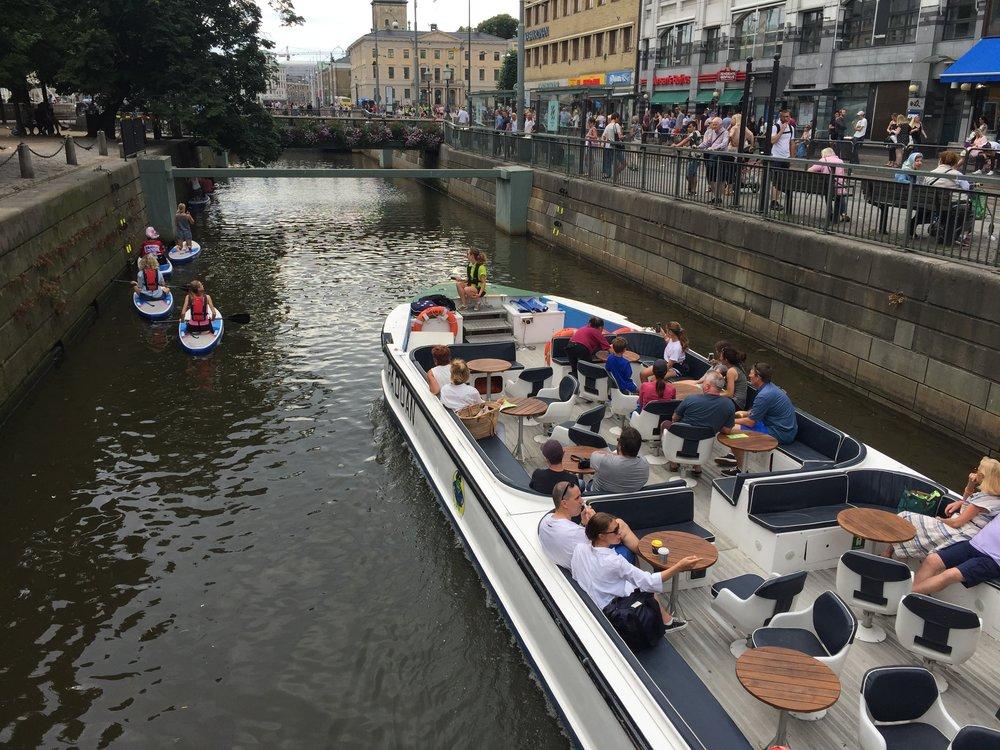Göteborg er en trivelig sommerby. Sørg for at du har det hyggelig år du er der. Foto: Odd Roar Lange