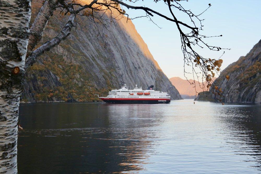 125-årsjubileet til Hurtigturen skal også markeres langs Norskekysten. Foto: Odd Roar Lange
