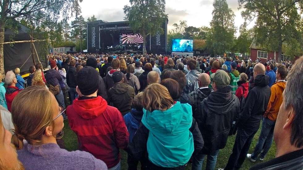 Det er snart klart for nye konserter på Rosmdalsmuseet i Molde. Foto: Odd Roar Lange