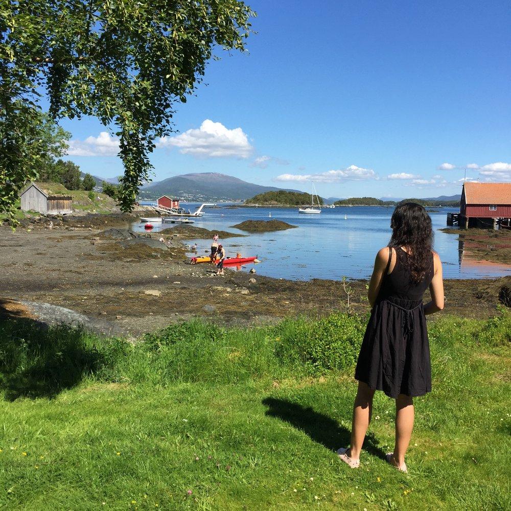 Del ditt minne fra Hjertøya. Neste år har øya vært i kommunal eie i 80 år. Det kan bli fotoutstilling fra de mange minnene fra øya.               Foto: Odd Roar Lange