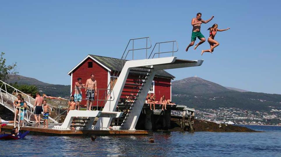 Har du et nytt eller gammelt bilde fra Hjertøya? Send det inn.  Foto: Odd Roar Lange