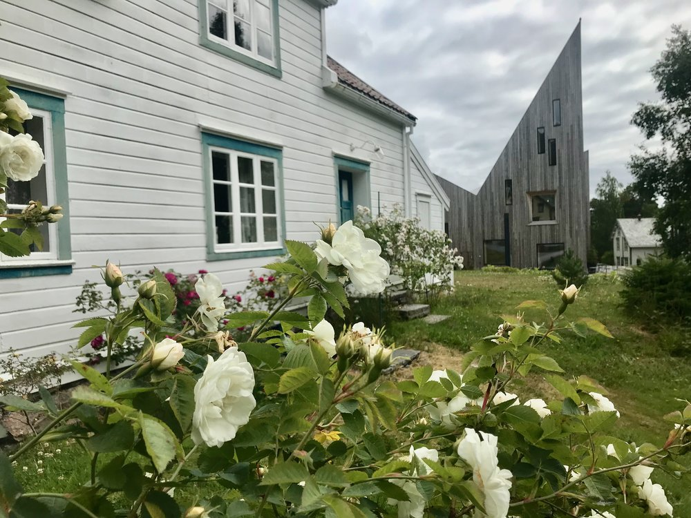 Rosen samler både det gamle og det nye - på Romsdalsmuseet i Molde. Foto: Odd Roar Lange