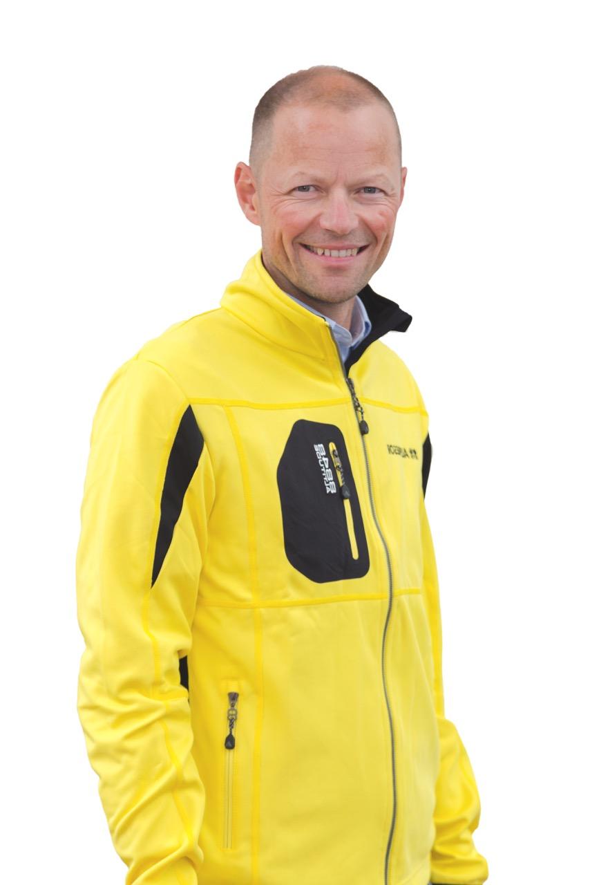 Ny administrerende direktør i STS Alpereiser, Niclas Helgesson.