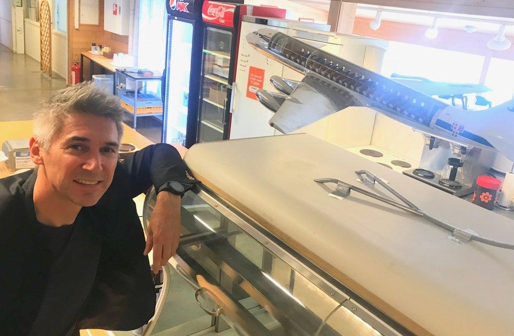 Massimo Pascotto leder SAS sin utviklingslab. Foto: Odd Roar Lange