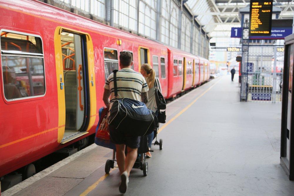Londonerne har mindre barnevogner enn mange nordmenn. Det er ikke helt uten grunn.  Foto: Odd Roar Lange